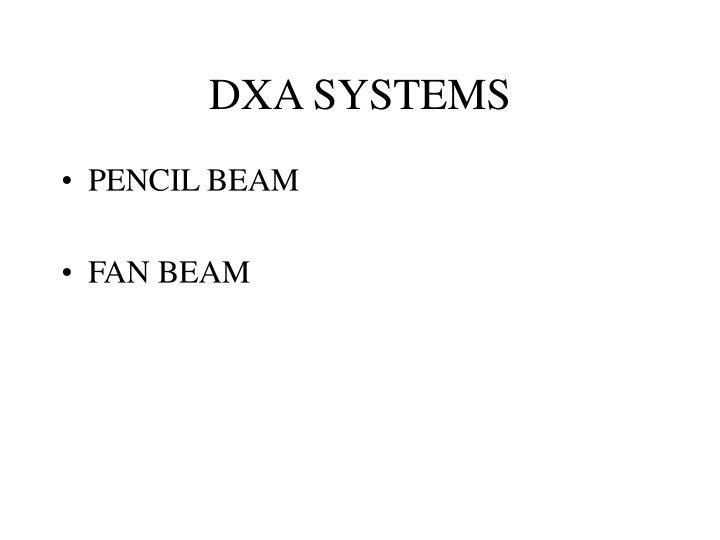 DXA SYSTEMS