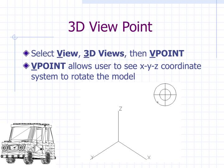 3D View Point