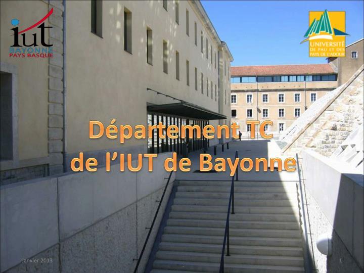 Département TC