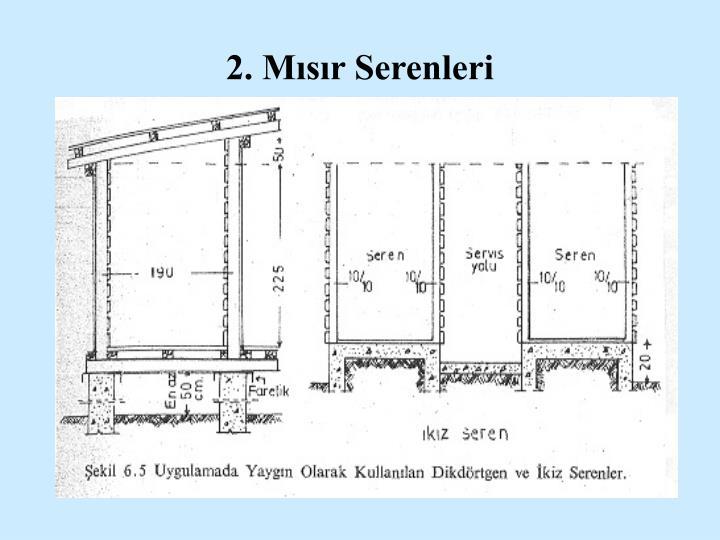 2. Mısır Serenleri