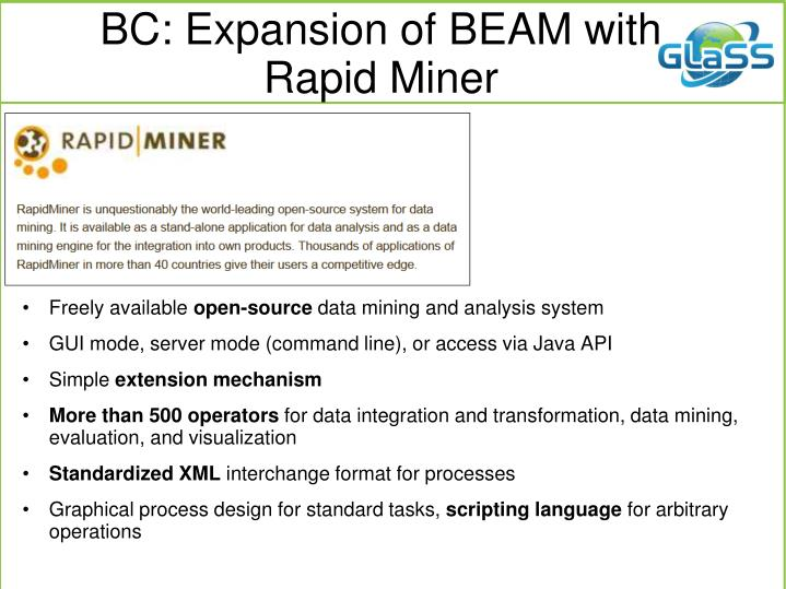 BC: Expansion of BEAM with