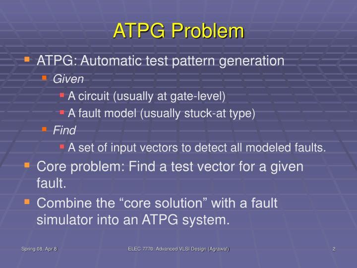 ATPG Problem