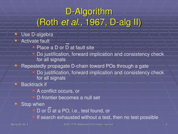 D-Algorithm