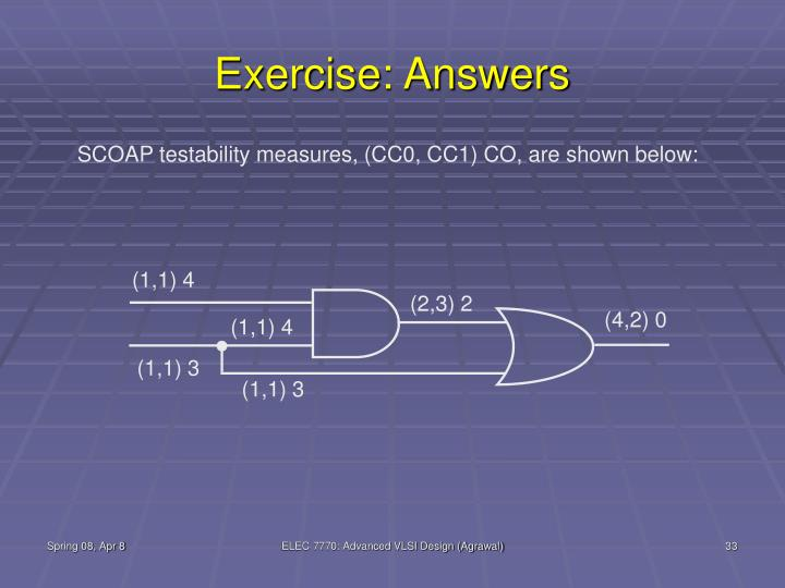 Exercise: Answers