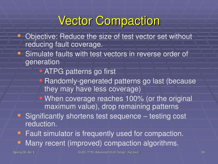 Vector Compaction