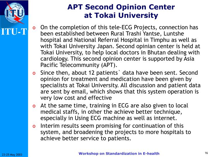 APT Second Opinion Center