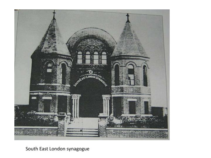 South East London synagogue