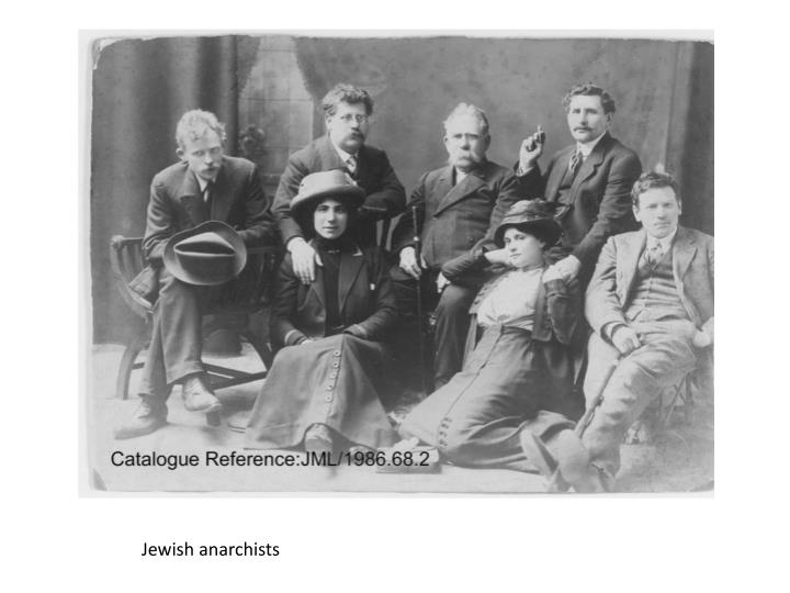 Jewish anarchists