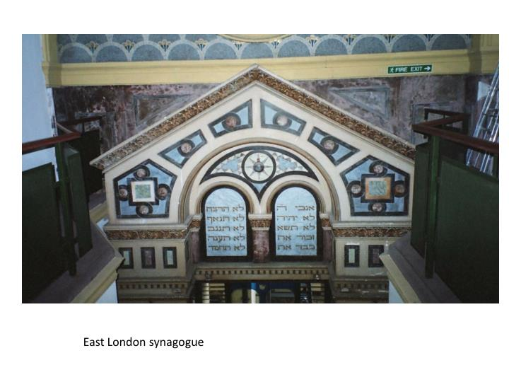 East London synagogue