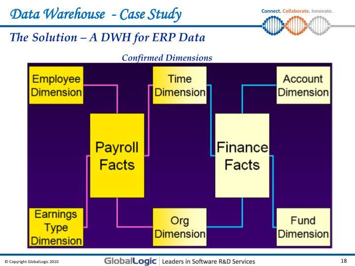 Data Warehouse  - Case Study