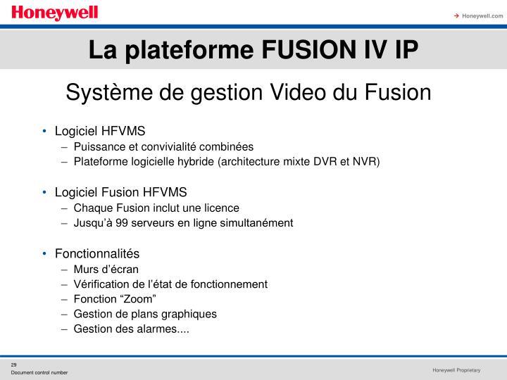 Logiciel HFVMS