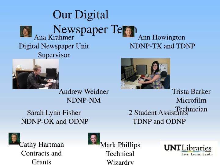 Our Digital Newspaper Team