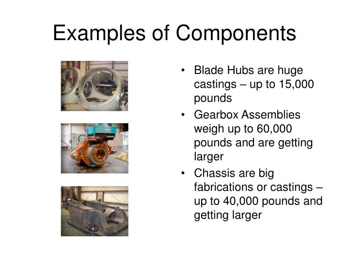 Blade Hubs are huge castings – up to 15,000 pounds