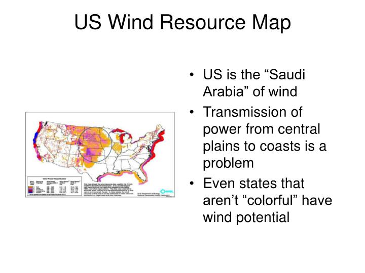 "US is the ""Saudi Arabia"" of wind"