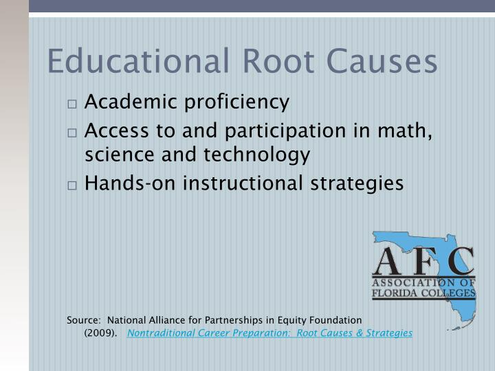 Educational Root Causes