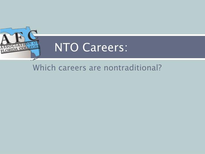 NTO Careers: