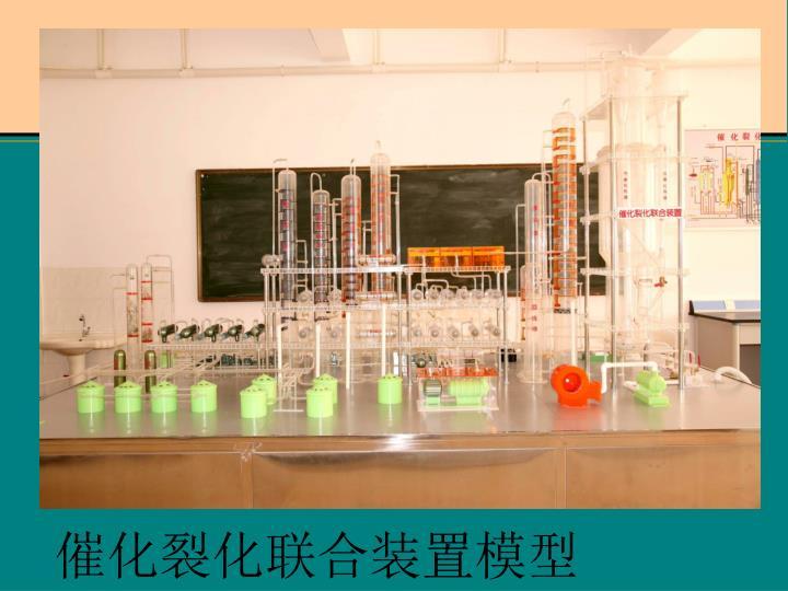 催化裂化联合装置模型