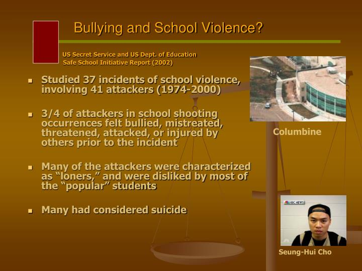 Bullying and School Violence?