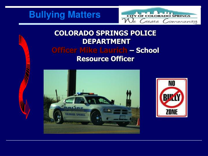 Bullying Matters