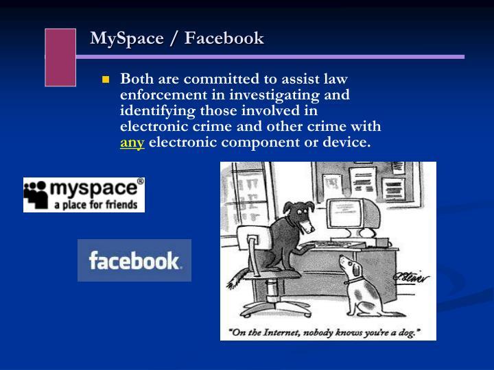 MySpace / Facebook