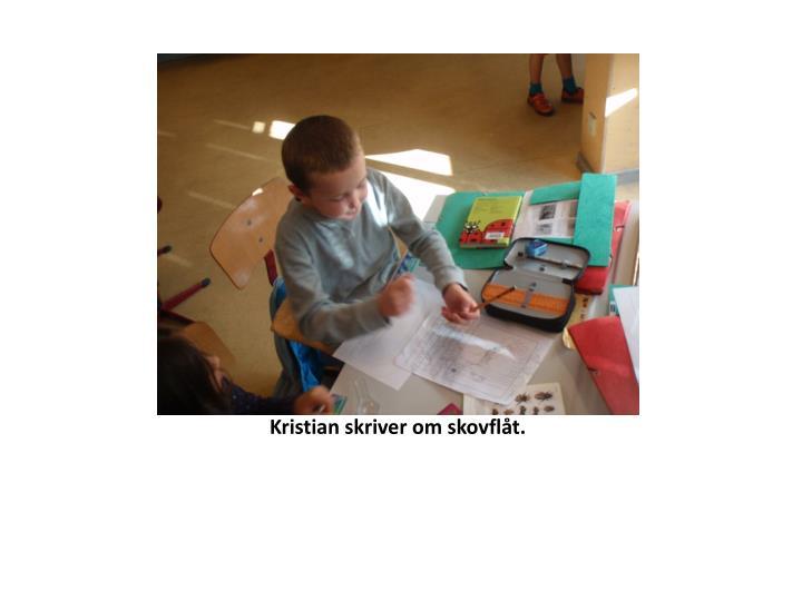 Kristian skriver om skovflåt.