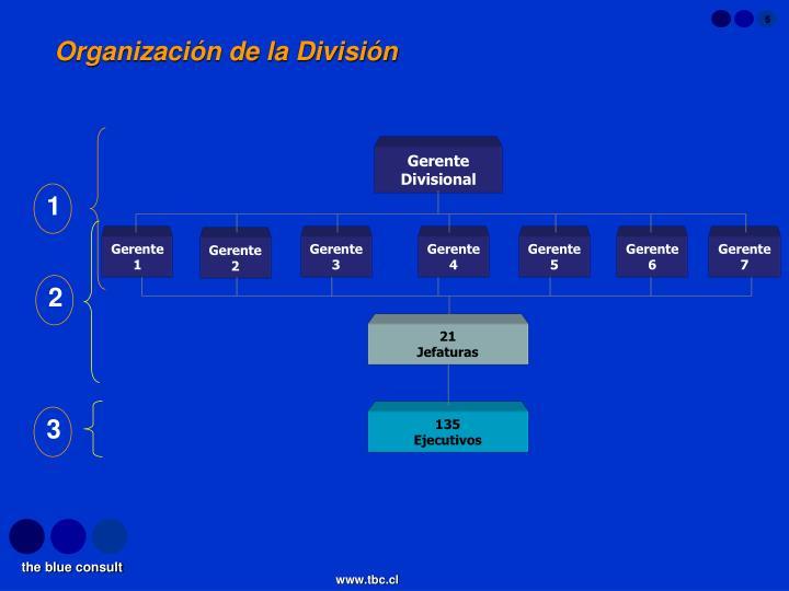 Gerente Divisional