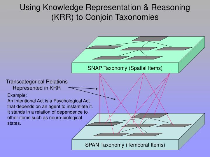 SPAN Taxonomy (Temporal Items)