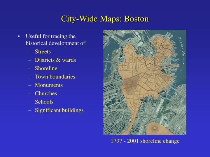 City-Wide Maps: Boston
