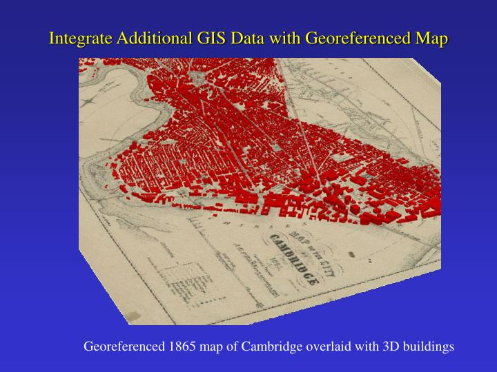 Integrate Additional GIS Data with Georeferenced Map