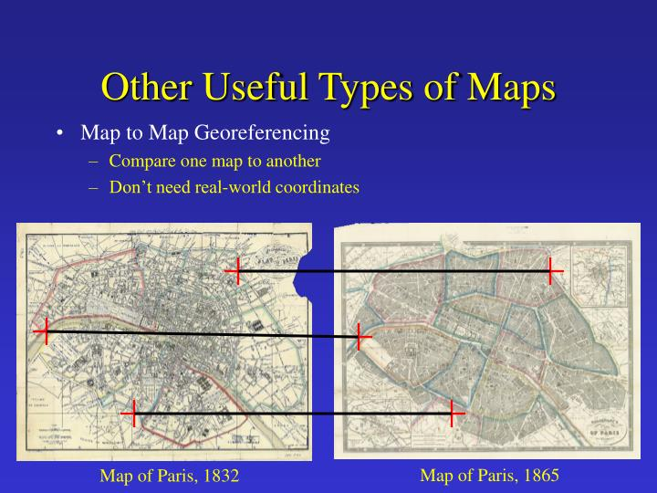 Other Useful Types of Maps