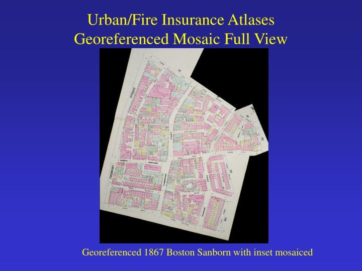 Urban/Fire Insurance Atlases
