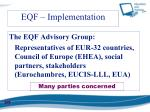 eqf implementation1