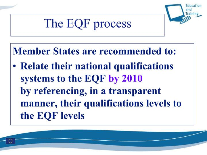 Member States are recommended to: