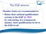 the eqf process