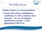 the eqf process1