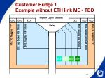 customer bridge 1 example without eth link me tbd