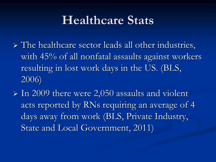 Healthcare Stats