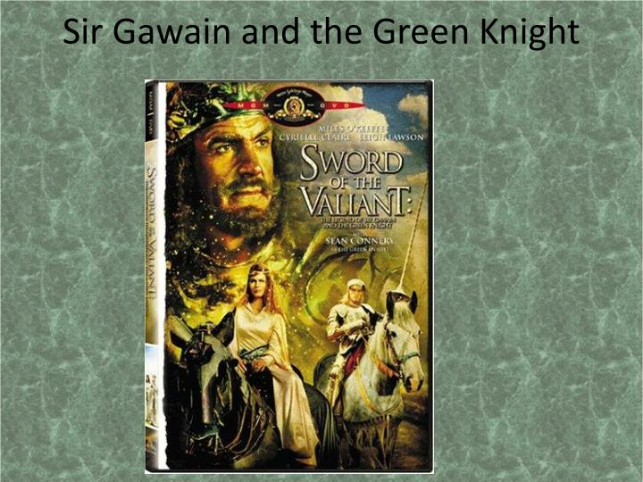 "sir gawain and the green knight and beowulf thesis The chivalric gawain  this thesis is brought to you for free and open access by the graduate school at  in ""sir gawain and the green knight,"" sir gawain,."