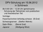 dpv schulung am 15 06 2012 in sch neck