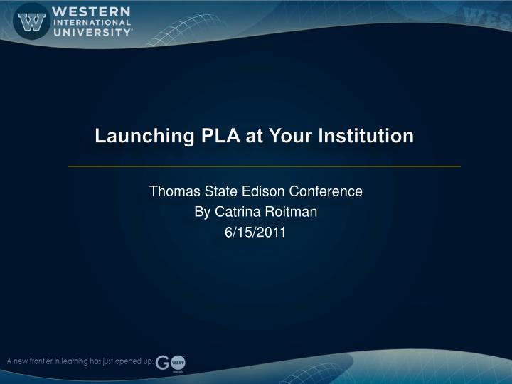 Thomas state edison conference by catrina roitman 6 15 2011