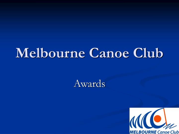 Melbourne canoe club
