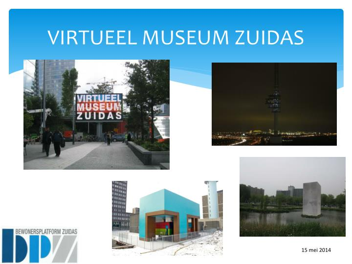 VIRTUEEL MUSEUM ZUIDAS