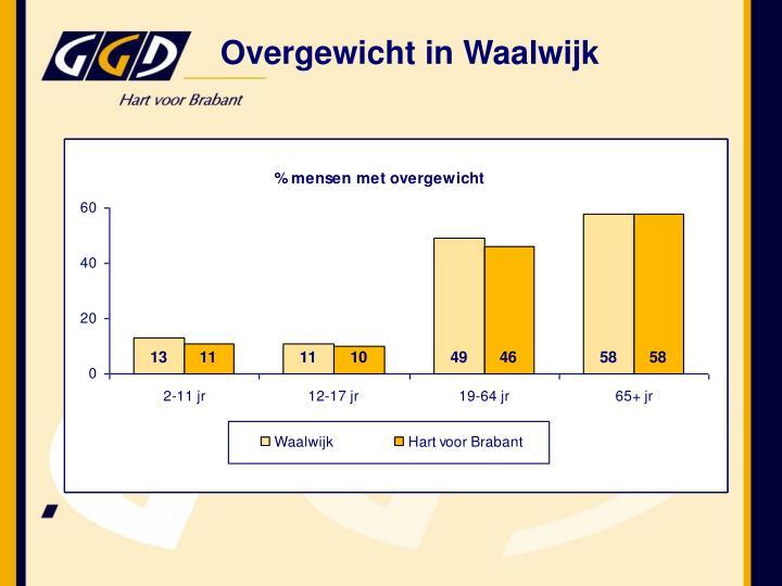 Overgewicht in Waalwijk