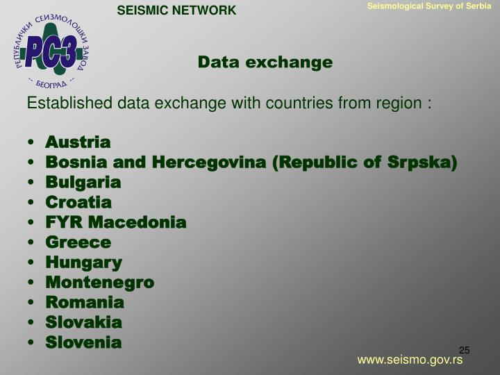 Seismological Survey of Serbia