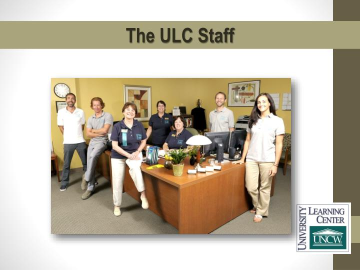 The ULC Staff