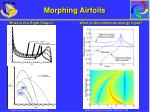 morphing airfoils