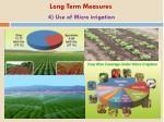 4 use of micro irrigation