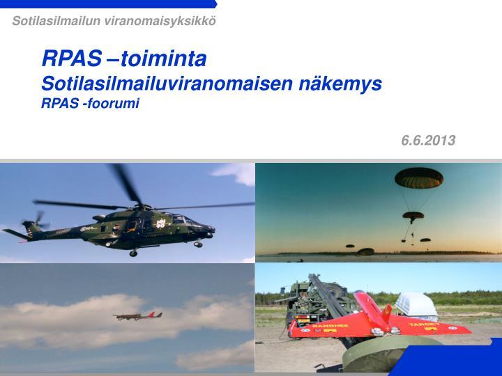Sotilasilmailun viranomaisyksikkö