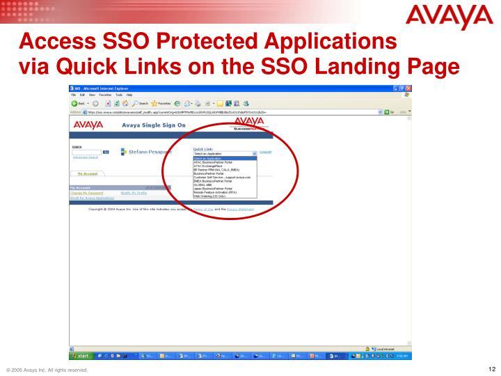 Access SSO