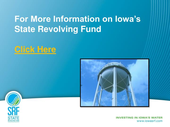For More Information on Iowa's